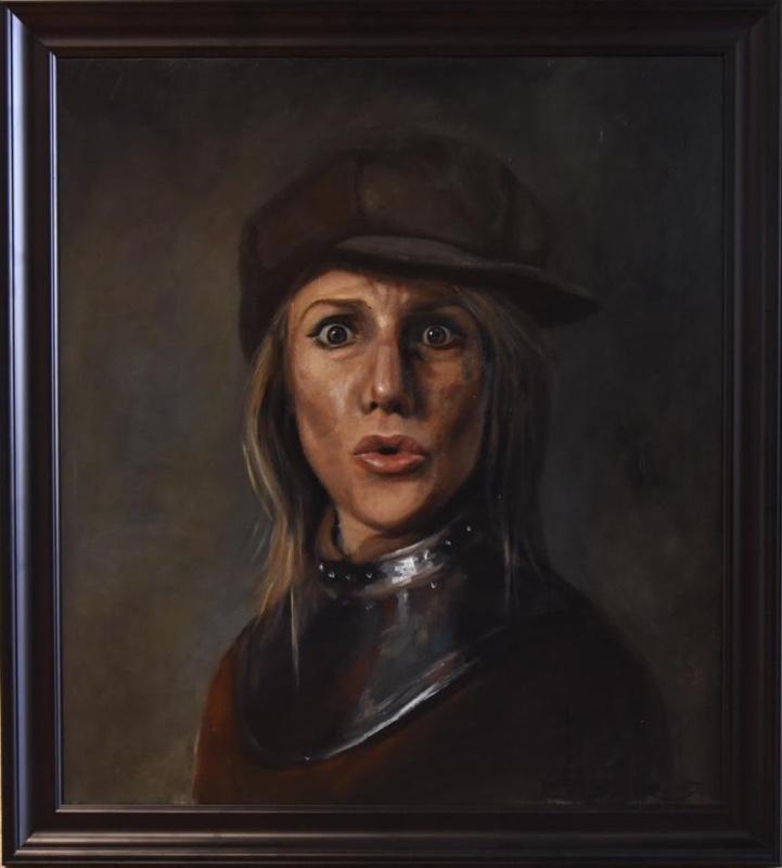 ' Zelfportret met baret '